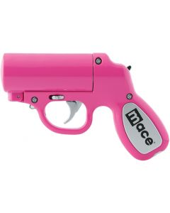 Mace Pepper Spray Pepper Gun W/strobe Led Matte Pink 28g