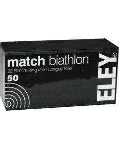 Eley Match Biathlon 22lr 40gr. Eps 50 Pack (so)