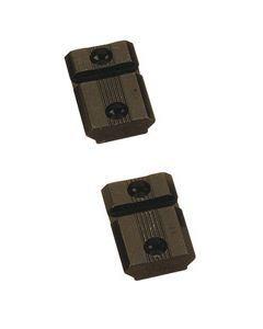 Traditions Mount Bases For Bolt In-Line Rifles 2-Pc Black