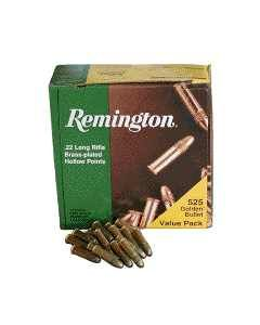 Remington Ammo .22 Long Rifle 525-Pk High Velocity 36Gr. Lead-Hp