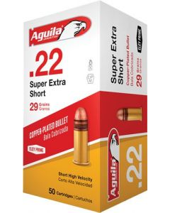 Aguila .22 Short 1095Fps. 29Gr. Sp 50-Pack