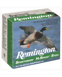 "Remington Ammo Hi-Speed Steel 25-Pk 10GA. 3.5"" 1-3/8Oz. #2"