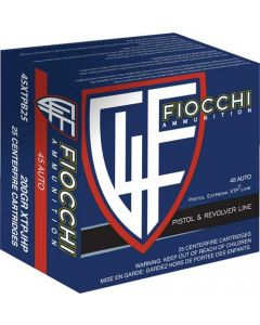 Fiocchi .45Acp 200Gr. Xtphp 25-Pack
