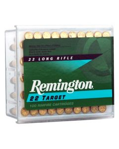 Remington Ammo .22 Long Rifle 100-Pk Std. Velocity Target 40Gr. Rn