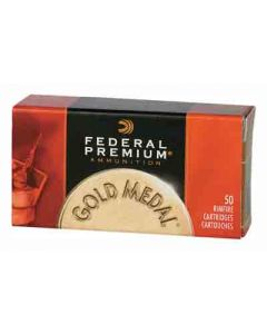 Federal Cartridge Ammo Gold Medal .22LR 1200FPS. 40Gr. Lead-RN 50Pk