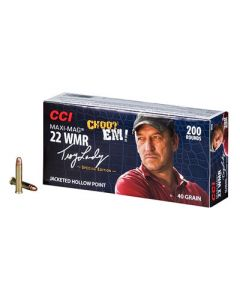 CCI Ammo Swamp People .22WMR 40Gr. Jacket Hollow Pt 200-Pk