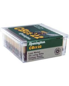 Remington Ammo .22 Long Rifle 100-Pk C-Bee Low Velocity 33Gr. Hp