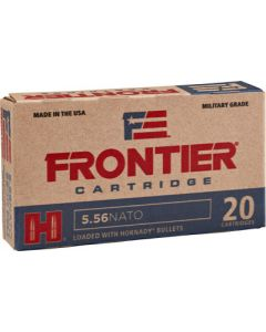 Hornady Ammo 5.56 Nato 62gr. Spire Point 20-pack