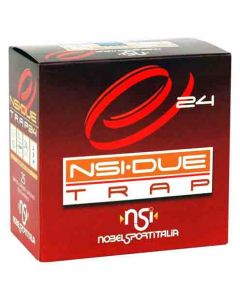 "Nobel Sport Ammo Due Trap 12GA. 2.75"" 1319FPS. 24 Gram #8 25Pk"
