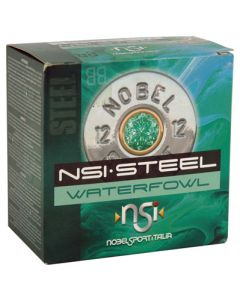 "Nobel Sport Steel Waterfowl 12 GA 3"" 1450 FPS. 1-1/4Oz BB 25-Pack"
