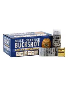 Nobel Sport Ammo 12GA. Multi- Defense Buckshot & .650Rb 10Pk