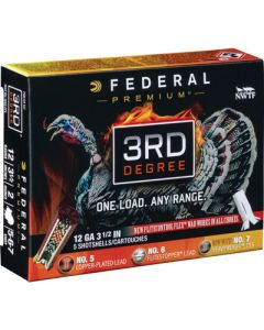 "Federal Cartridge Ammo Third Degree 12ga. 3.5"" 2oz. #5,6,7 5-pack"