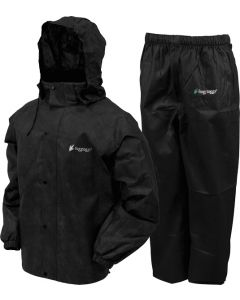 Frogg Toggs Rain & Wind Suit All Sports 2x-large Blk/blk