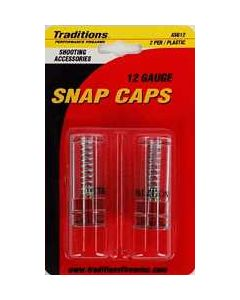 Traditions Snap Caps 12GA. 2-Pack
