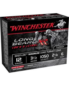 "Winchester Ammunition Ammo Long Beard Xr 12GA. 3.5"" 1050FPS Shotlk 2-1/8Oz #6"
