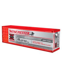 Winchester Ammunition Ammo Super Speed .22LR 1330FPS. 37Gr. HP 100-Pack