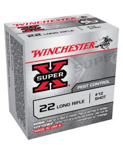 Winchester Ammunition Ammo Super-X .22LR #12 Lead Shotshells 50-Pack
