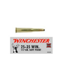 Winchester Ammunition Ammo Super-X .25-35 Win. 117Gr. Power Point 20-Pack