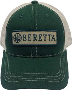 Beretta Cap Trucker W/patch Cotton Mesh Back Green