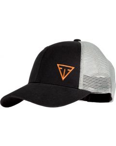 Tikka Cap W/tikka Offset Logo Cotton Mesh Back Black