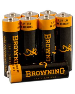 Browning Trail Camera Aa Alkaline Batteries 8-Pack