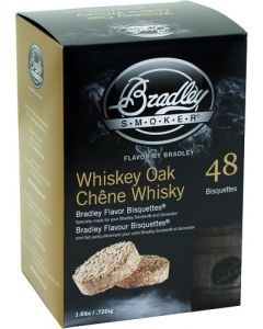 Bradley Smoker Whiskey Oak Se Flavor Bisquettes 48 Pack