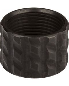 Cruxord 9/16-24 Blackened S/s Thread Protector