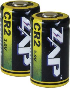 Personal Security Products Zap Cr2 Batteries Lithium 3-pack
