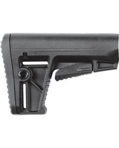 Defiance Stock Ds150 Black Fits Ar-15 Mil-spec