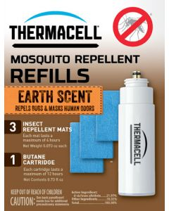 Thermacell Refill Single Pack 12 Hours Earth Scent
