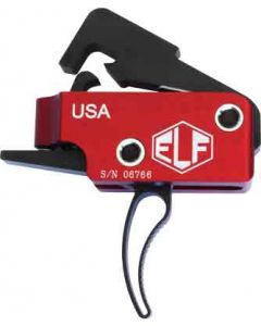 Elftmann Trigger Ar-10 Match Curved Adjustable 2.75-4lbs.