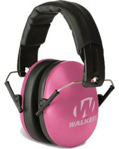 Walker Game Ear Folding Muffs Nrr 31db Pink