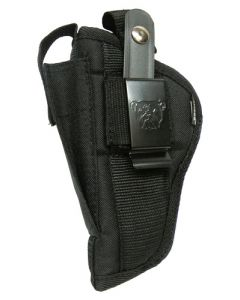"Bulldog Cases Extreme Side Holster Black Lrg Frm Auto 4-4.5"" Bbl"