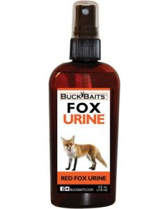 Buck Baits Cover Scent Red Fox Urine 4Fl Oz. Bottle