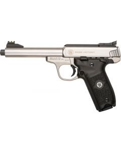 "S&W SW22 Victory 5.5"" Adj. 10-shot Ss Threaded Bbl"