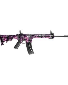 "S&W M&P15-22 Sport .22lr 16.5"" 25-sh 6-pos Stock Muddy Girl"