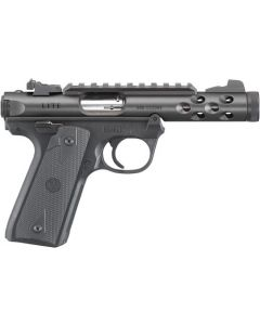 "Ruger Mark Iv 22/45 Lite .22lr 4.4"" Bull As Black Anodized"