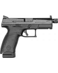 Cz P-10 Compact 9mm Fs 15-shot Polymer Black Suppressor Read