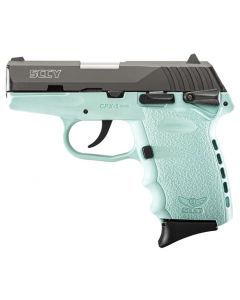 SCCY CPX1-Cb Pistol DAO 9MM 10Rd Black/Sccy Blue Safety