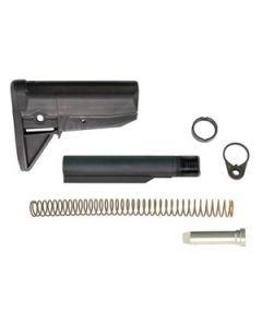 Bravo Company Stock Kit Mod 0 Black Fits AR-15 Complete Kit