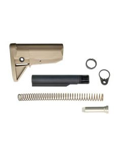 Bravo Company Stock Kit Mod 0 FDE Fits AR-15 Complete Kit
