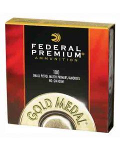 Federal Cartridge Primers- Small Pistol Gold Medal Match 5000Pk