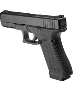 Glock 17 Gen-5 With Night Sights 17-Shot Black 9mm