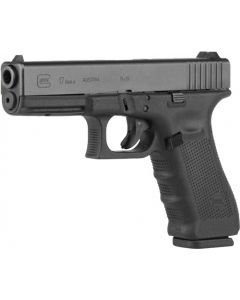 Glock 17 Gen-4 Mos Fixed Sights 17-Shot Black 9mm