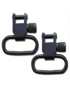 "Grovtec Locking Swivel 1"" Black Only 2-Pack"