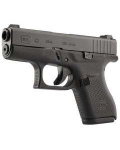 Glock 42 .380acp Night Sights 6-shot Black