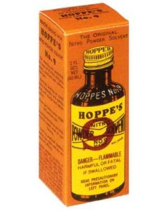 Hoppes #9 Powder Solvent 2Oz. Bottle