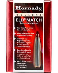 Hornady Bullets 6.5mm .264 120gr. Eld-match  100ct