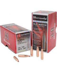Hornady Bullets 6.5mm .264 123gr. Eld-match  100ct