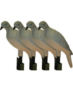 Mojo Clip On Dove Decoy Set Of 4